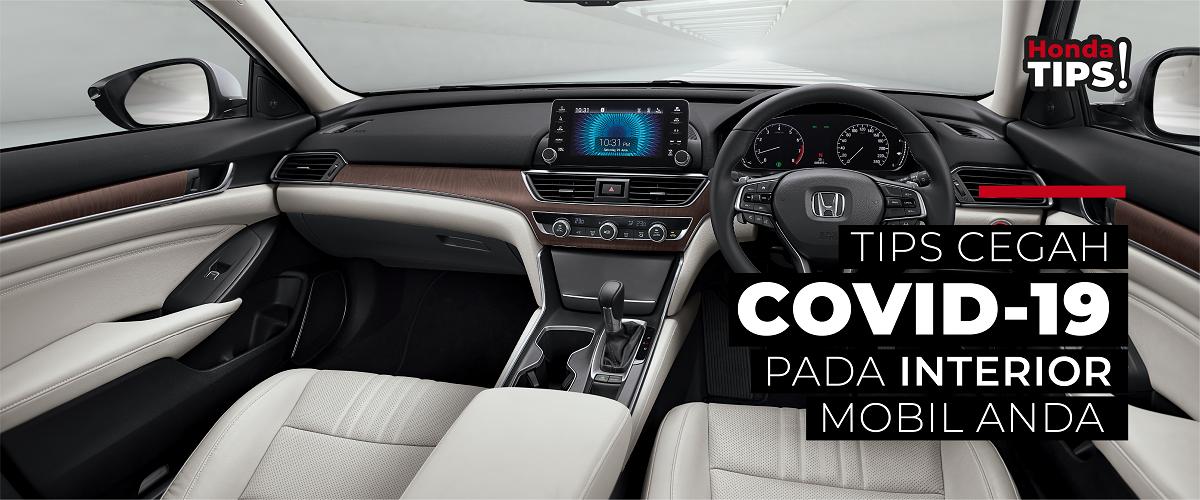 Jaga Interior Mobil dari COVID-19