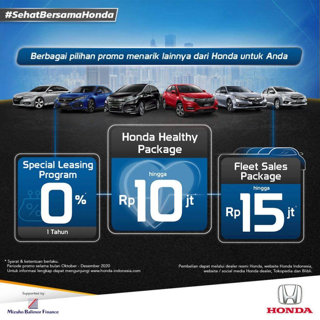 """Promosikan Gaya Hidup Sehat, Honda Berikan Keuntungan untuk Calon Konsumen Lewat Program Honda """"Sehat Bersama Honda"""""""